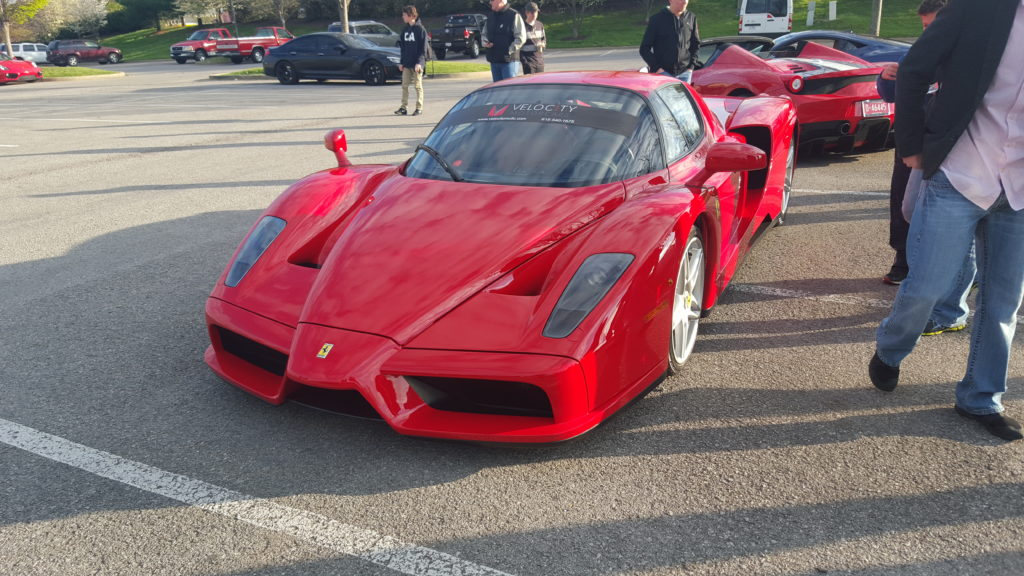 Enzo Ferarri At Nashville Cars And Coffee